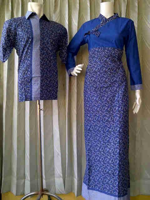 Baju Sarimbit Batik Sarimbit Batik Muslim Kode