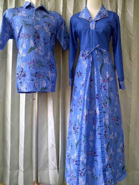 ... Batik Sarimbit – Batik Sarimbit Gamis – Baju Batik Sarimbit