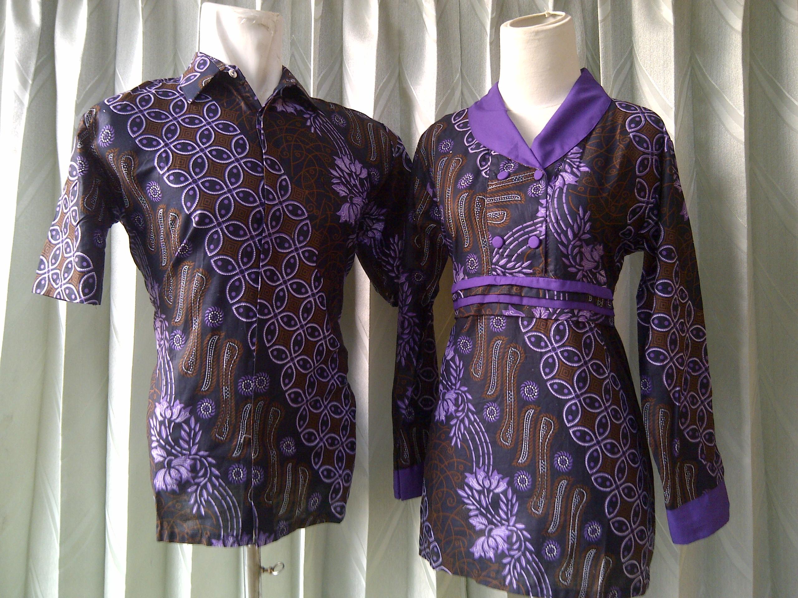 96 model baju batik sarimbit sepasang terbaru 2012 baju Baju gamis nevada