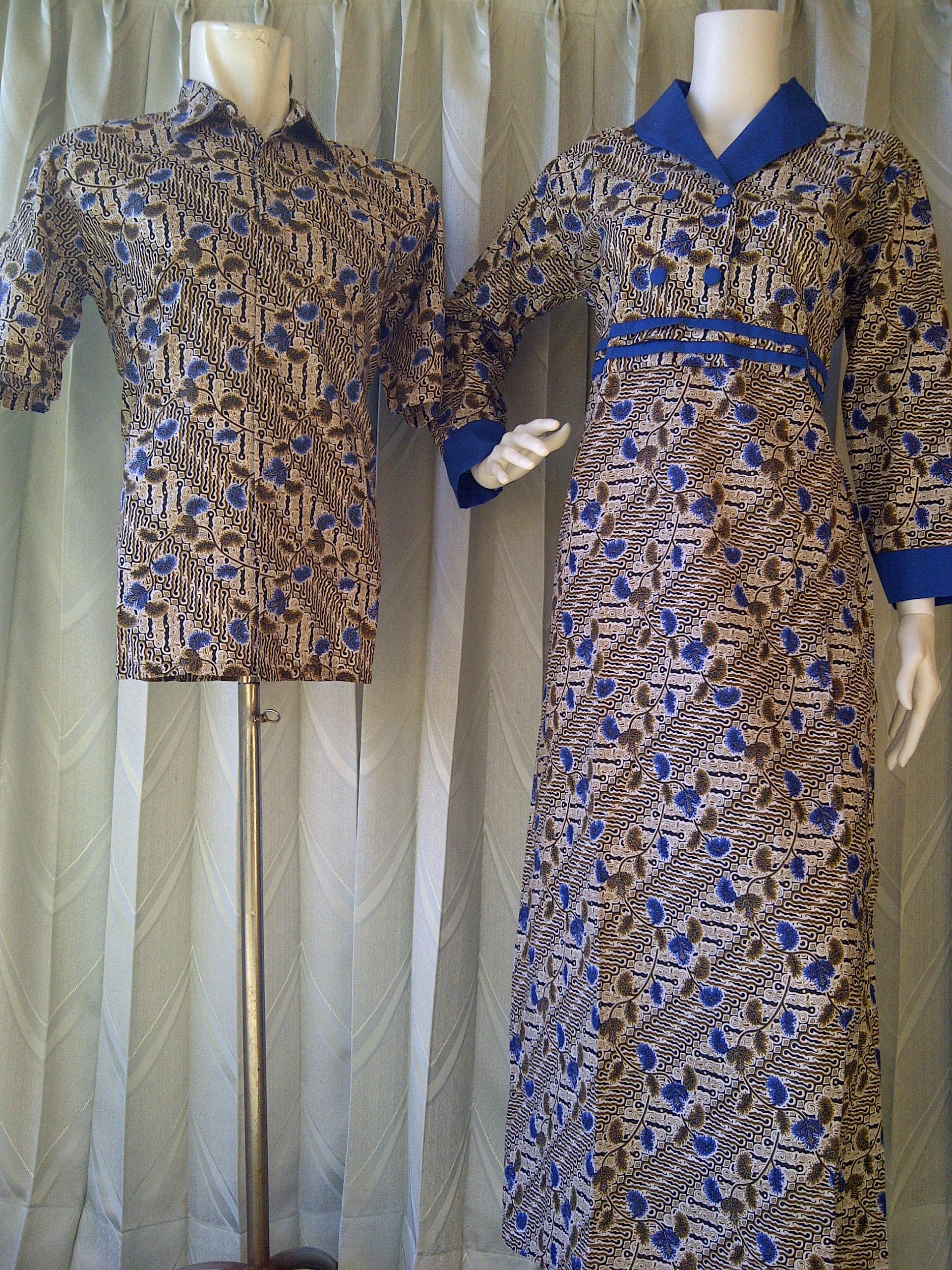 Baju Batik Sarimbit Sarimbit Batik Gamis Kode Sarimbit