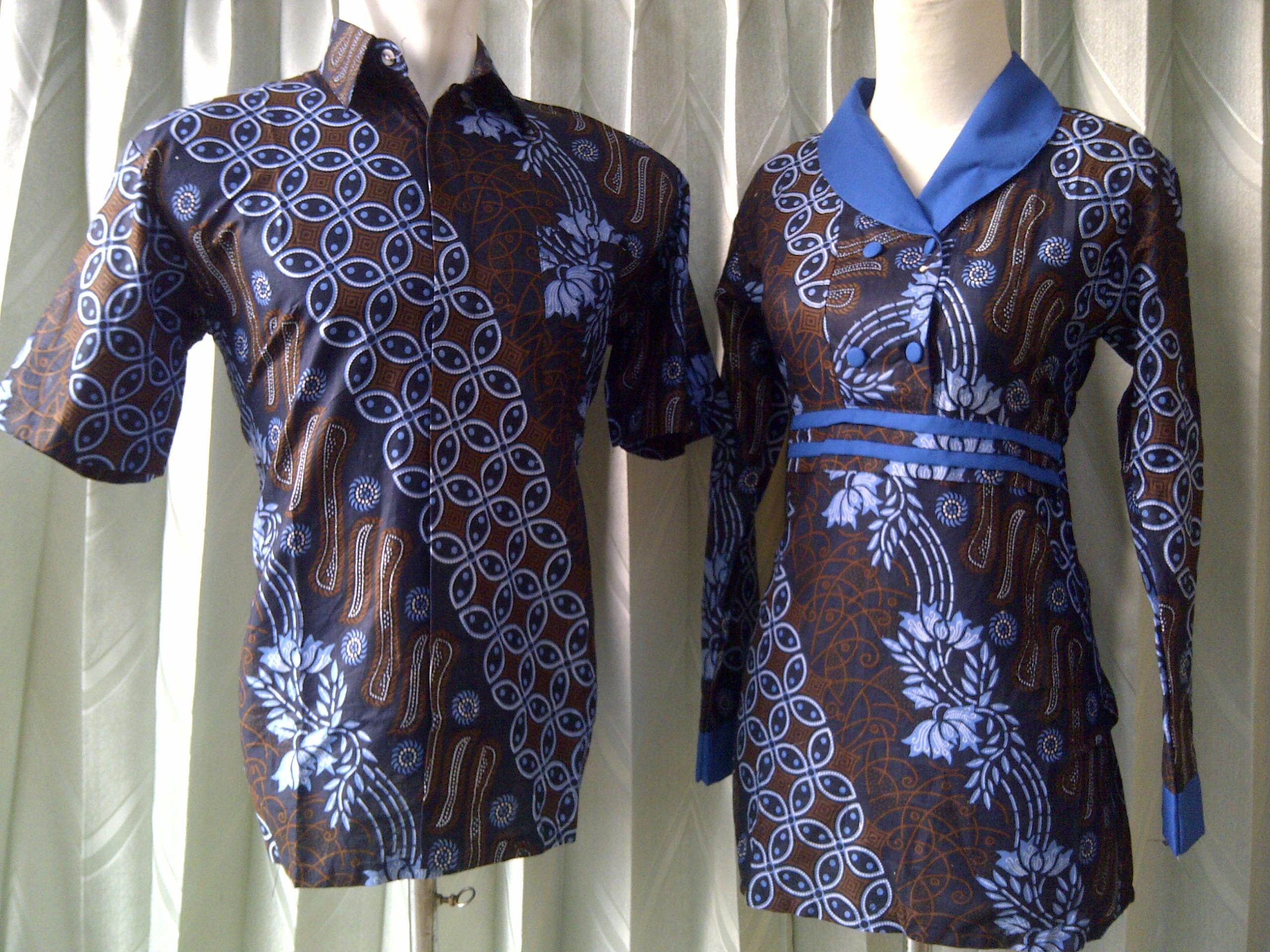 Batik Sarimbit – Batik Sarimbit Modern Kode Sarimbit Blouse Amira