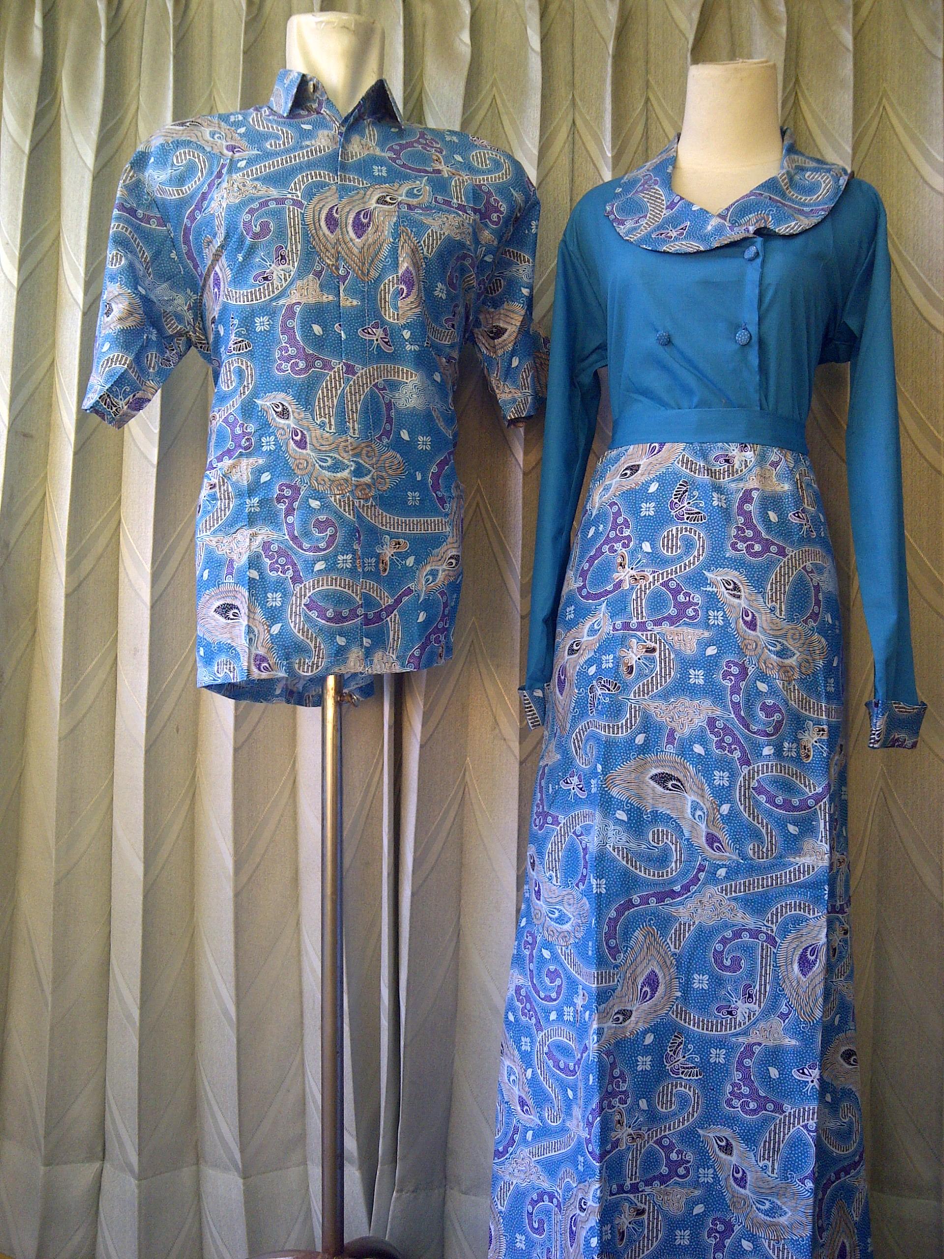 Baju gamis batik danar hadi