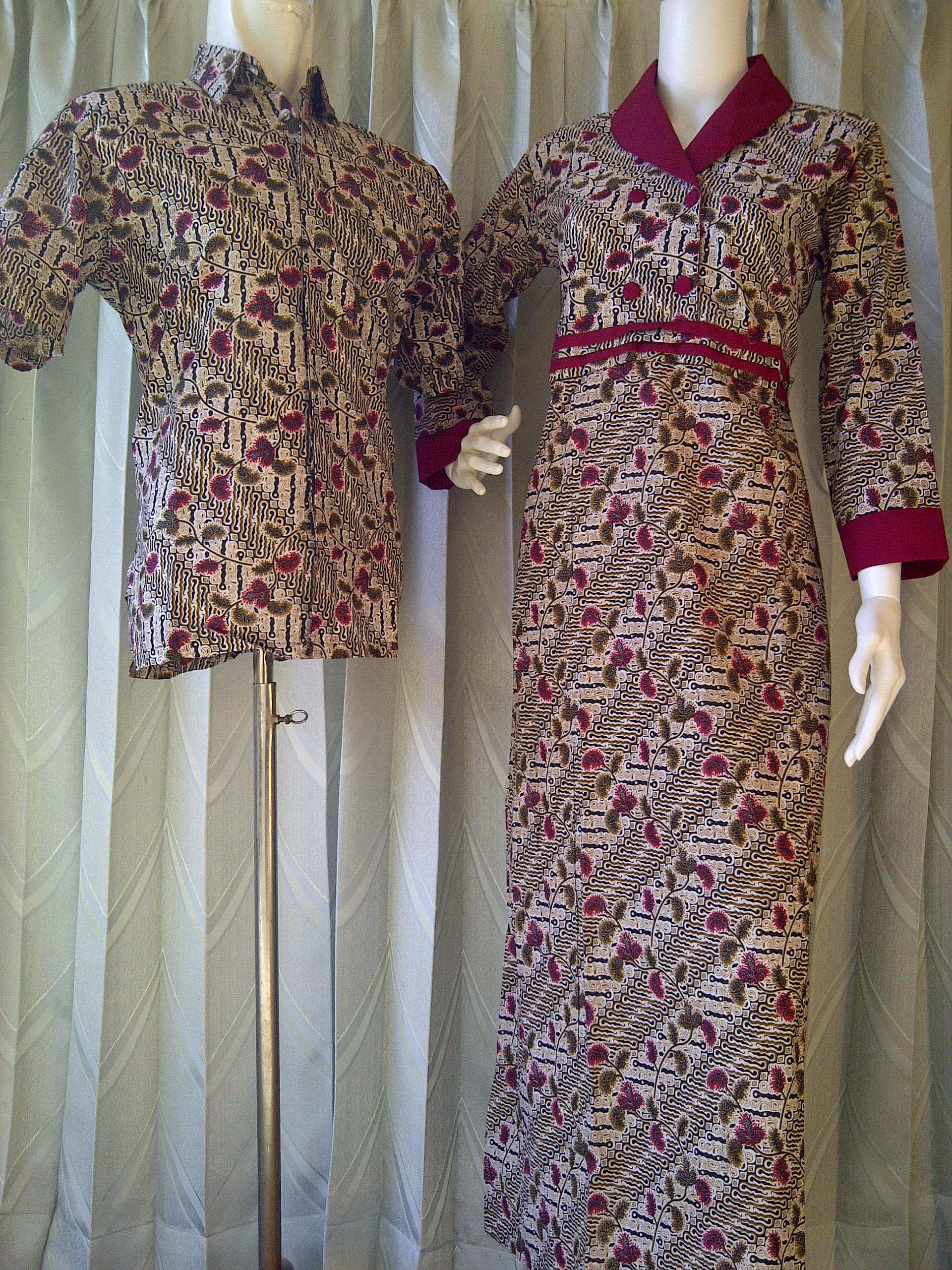 Baju batik sarimbit sarimbit batik gamis kode sarimbit Baju gamis batik anak2