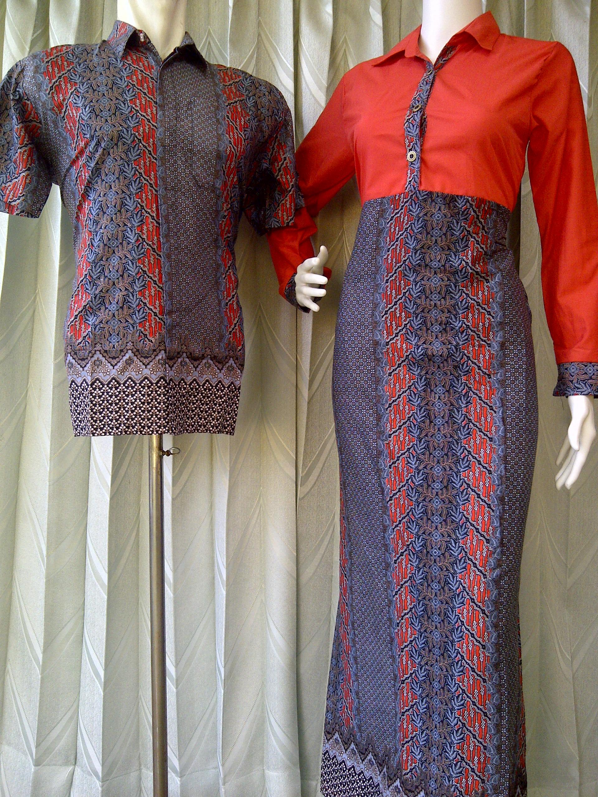 Sarimbit Batik Muslim Sarimbit Batik Modern Kode