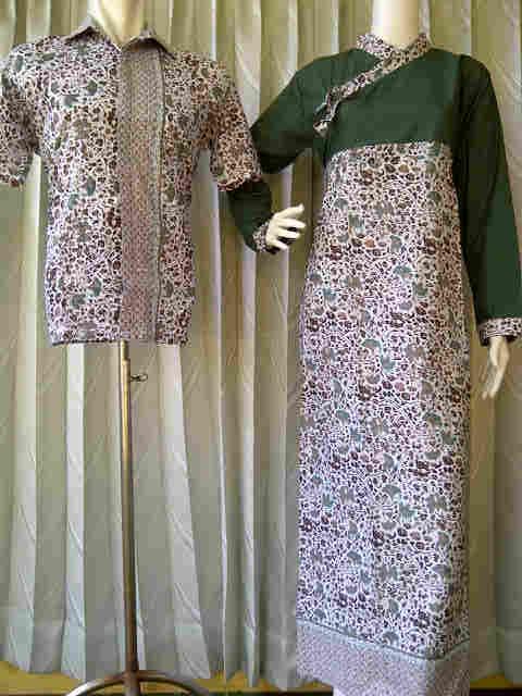 Baju Batik Sarimbit Sarimbit Batik Cantik Kode