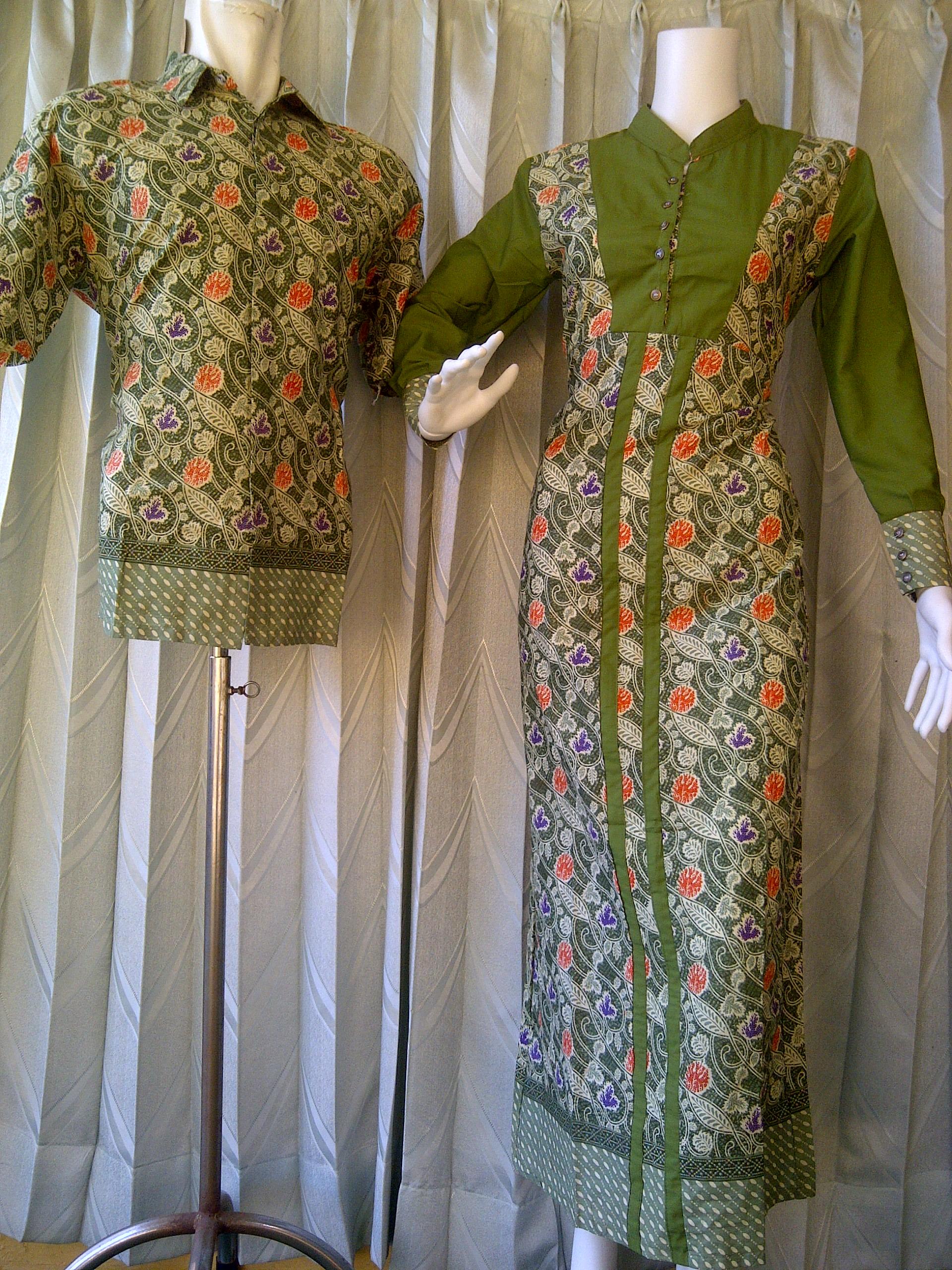 Grosir Batik Sarimbit Batik Sarimbit Gamis Baju Batik