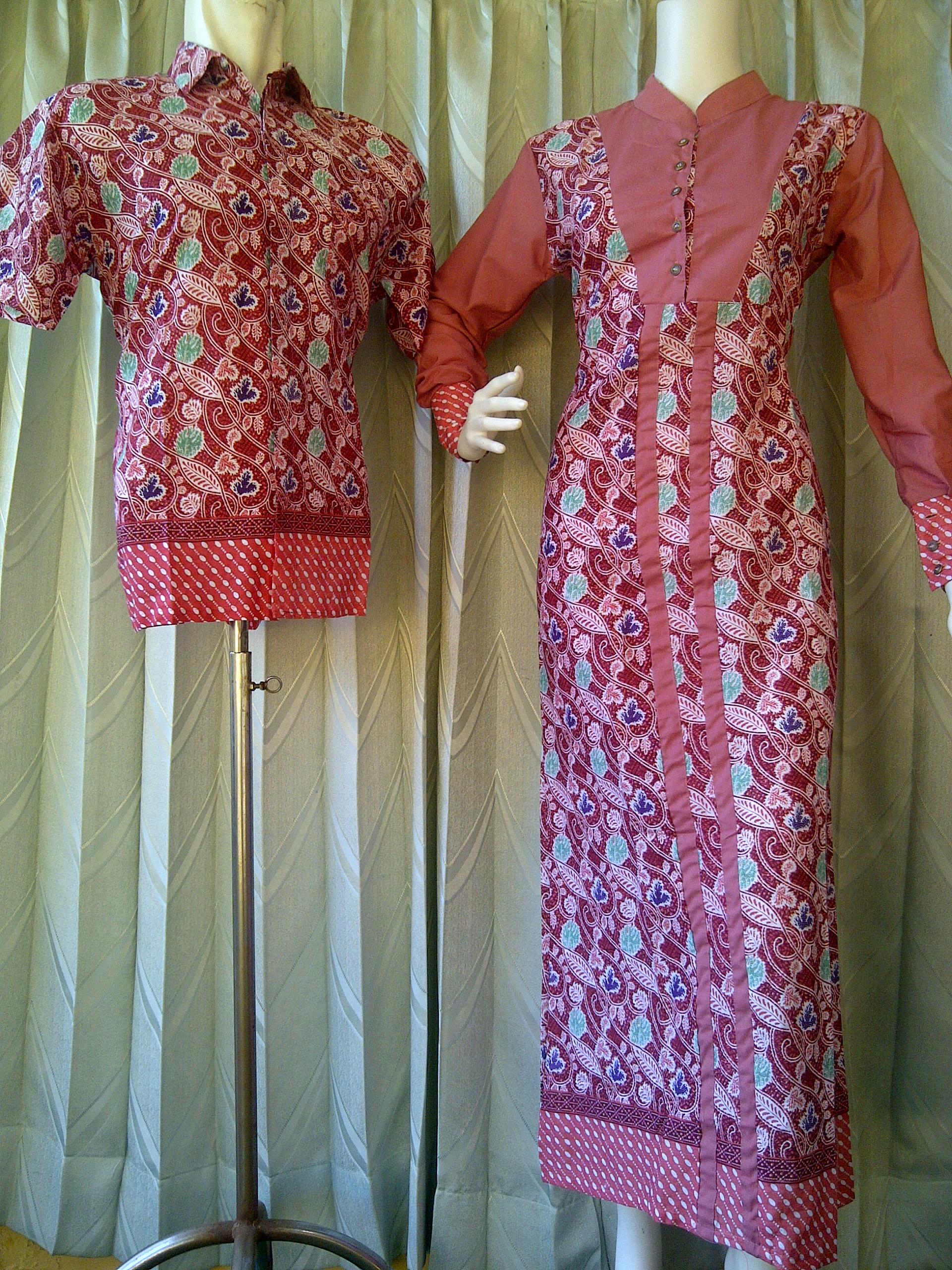 Batik Sarimbit Pekalongan Sarimbit Gamis Batik Kode